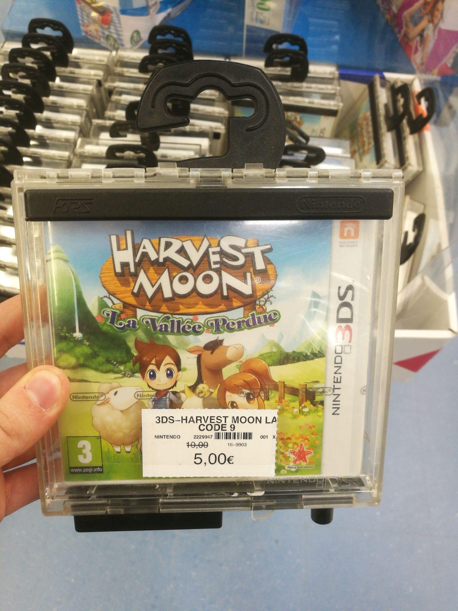 Harvest moon la vallée perdue sur Nintendo 3DS - Tourville La Rivière (76)