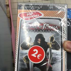 Prince of Persia Revelations sur PSP - Claye Souilly (77)