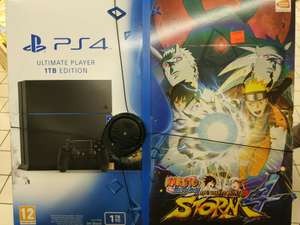Console Sony PS4 1To + Naruto Shippuden Ultimate Ninja Storm (Carrefour Bercy 2 - 94)