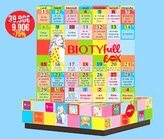 """Biotyfull box beauté """"nouveau départ"""" à 9,90€ sans engagement"""