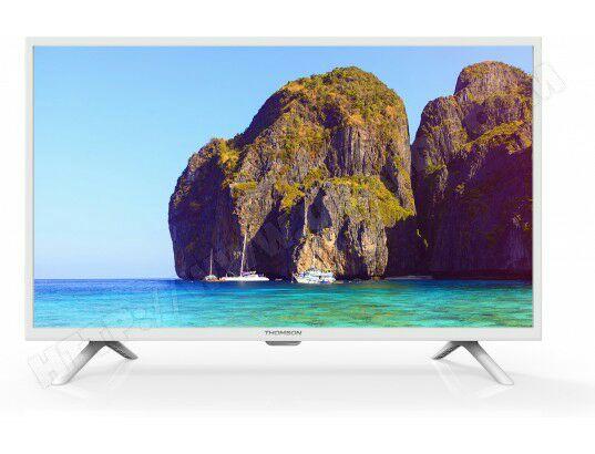 "TV 32"" Thomson 32HD3121W blanche"