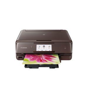 Imprimante multifonction à jet d'encre Canon PIXMA TS8050 - marron (ou noir pour 5 euros de plus)