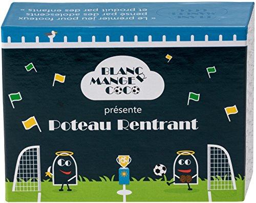 Extension de 200 cartes footballistiques (poteau rentrant) pour jeu de société blanc manger coco