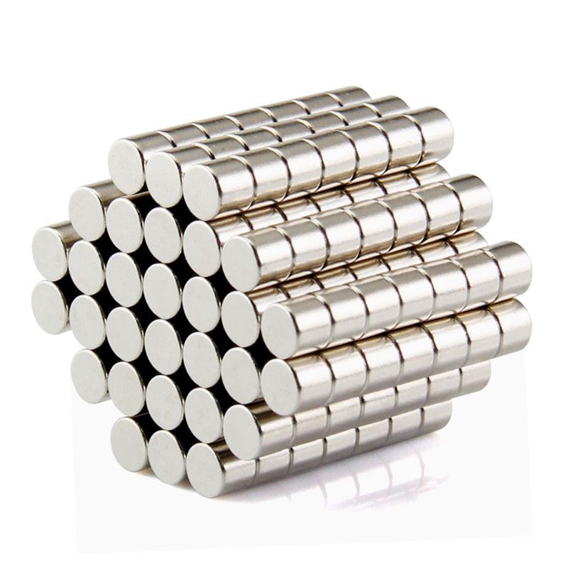 100 aimants (3mm * 1mm) en terre rare