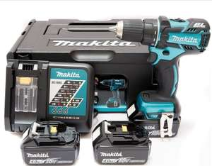 Visseuse-perceuse Makita DDF480SP1J LXT 18V Brushless + 3 batteries 4Ah + Chargeur + MakPac