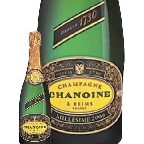 Bouteille de champagne brut Chanoise - millésime 2009, 75 cl