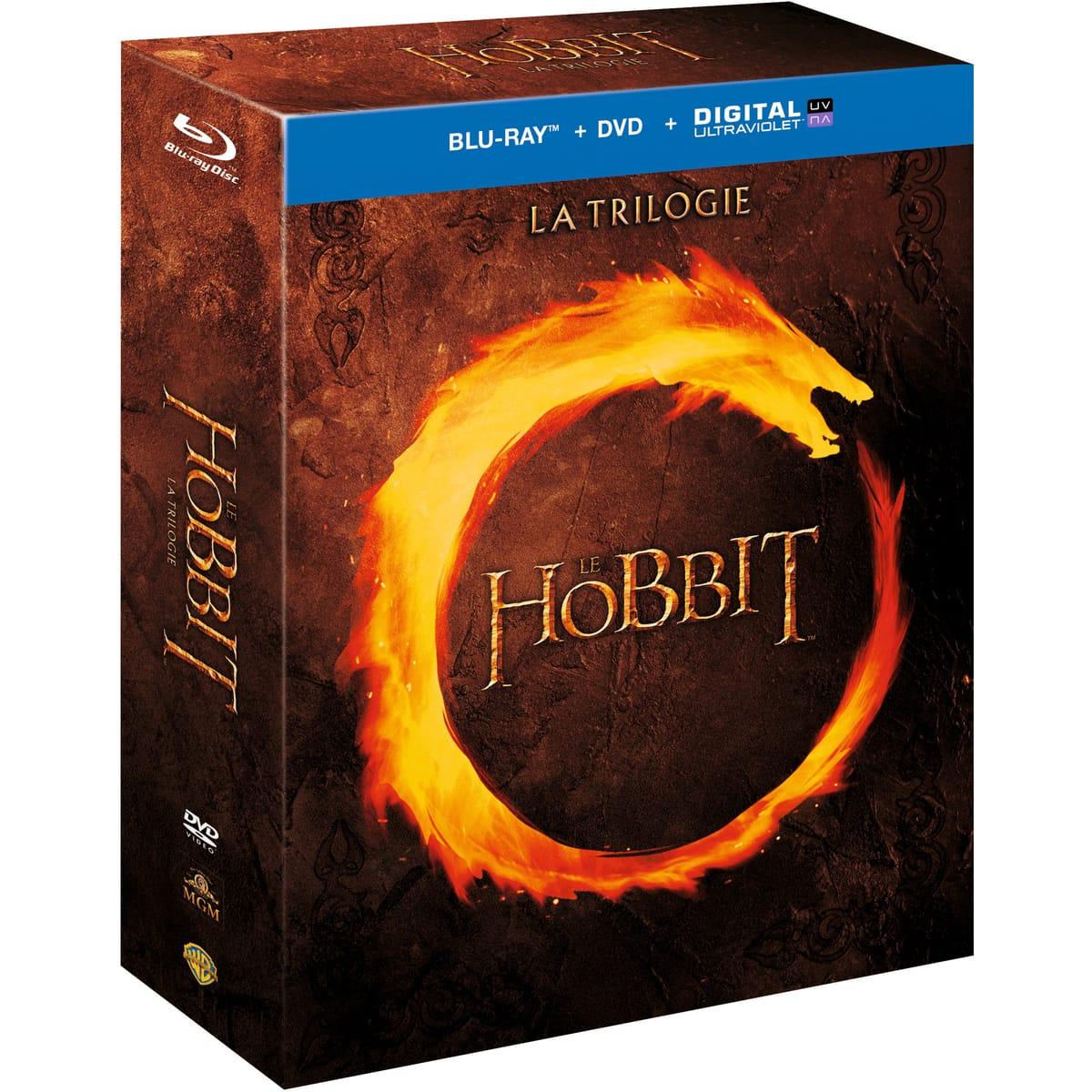 Coffret Blu-ray + DVD + Copie digitale Le Hobbit - La Trilogie