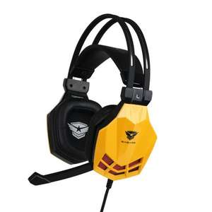 Casque Gaming 7.1 Tornado yellow Edition