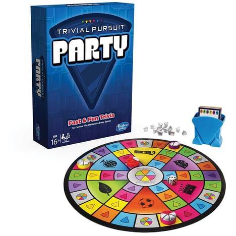 Jeu de société Hasbro Trivial Pursuit party