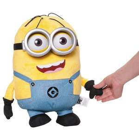 Peluche parlante Minion Dave - H 41 cm