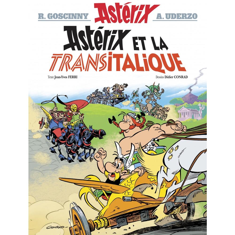 Astérix et la Transitalique - nº37 - Villeneuve-d'Ascq (59)