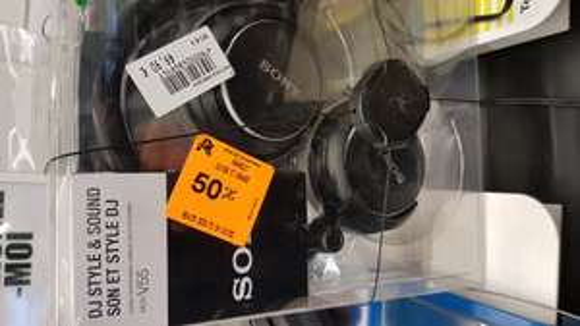 Casque DJ Sony MDR-V55 - Auchan Bagnolet (93)
