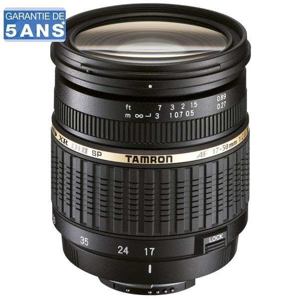 Objectif Tamron 17-50mm f/2.8 Di II Monture Nikon
