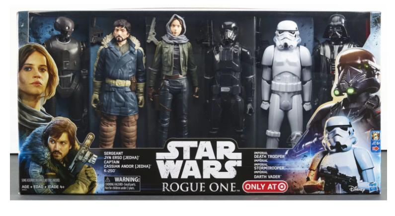 Coffret 6 figurines Star Wars - B9603