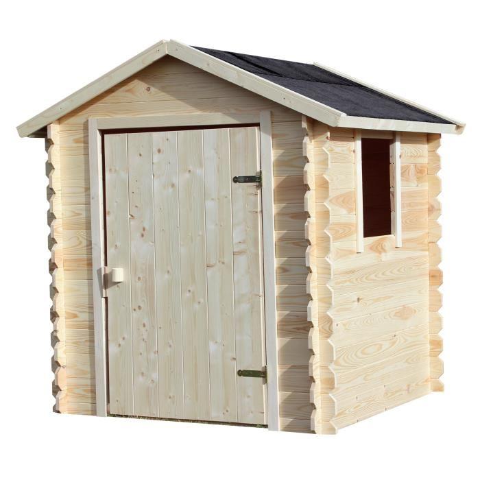 Maison enfant / Cabane en bois Soulet Emeline - 140 x 125 x 140 cm