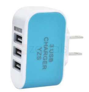 Chargeur USB - 3 ports (3.1A)