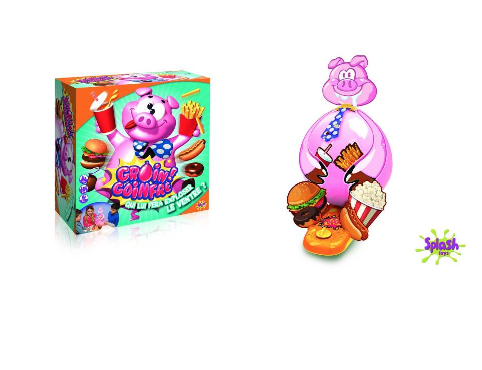Sélection de jeux de société en promo - Ex : Jeu Splash Toys Groin Gouinfre 30102 Frutti Frutti