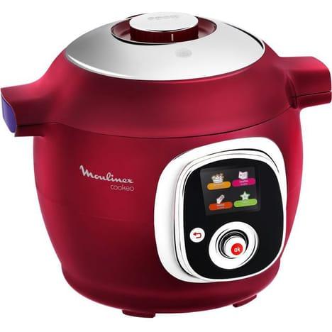 Mijoteur Cookeo CE701500 Moulinex Red Edition Multi-cuiseur intelligent 6L 1200W (retrait en magasin)