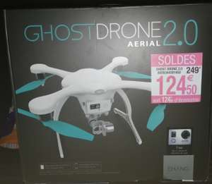 Drone Ehang Ghostdrone 2.0 Aerial Blanc (Caméra Ehang 4K et SD 8Go fournis) - Carrefour Ivry Grand Ciel (94)