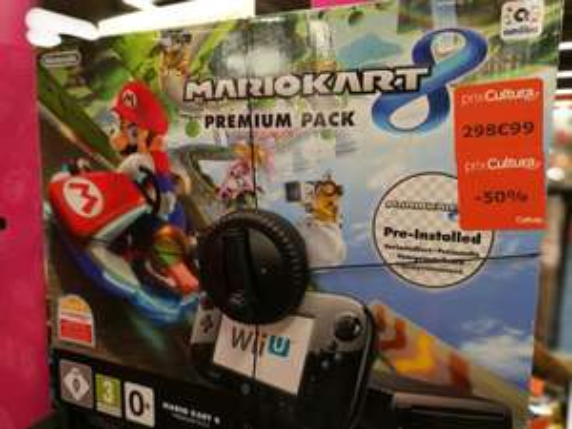 Console Wii U 32Go avec Mario Kart 8 - Brest (29)