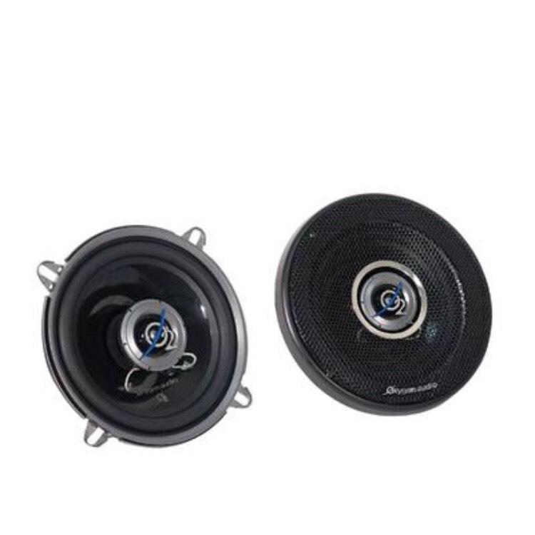 Paire d'haut-parleurs auto coaxial Oxygen Spiral 130.2 - 130 mm, 120 W