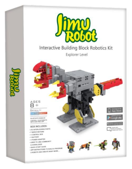 Robot à construire et programmable multi modèles Kit explorateur Jimu Robot Ubtech