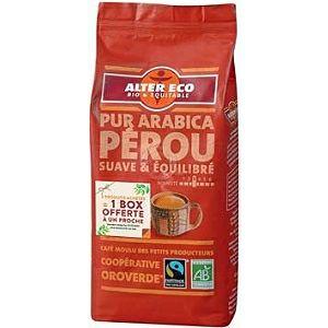 Café moulu bio Alter Eco 260g pur arabica Guatemala/Pérou/Mexique