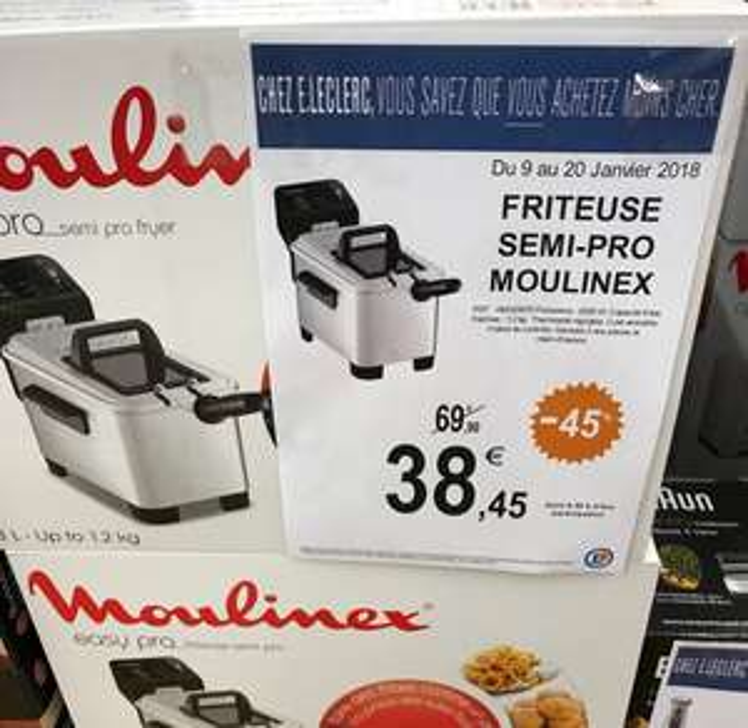 Friteuse électrique Moulinex AM333070