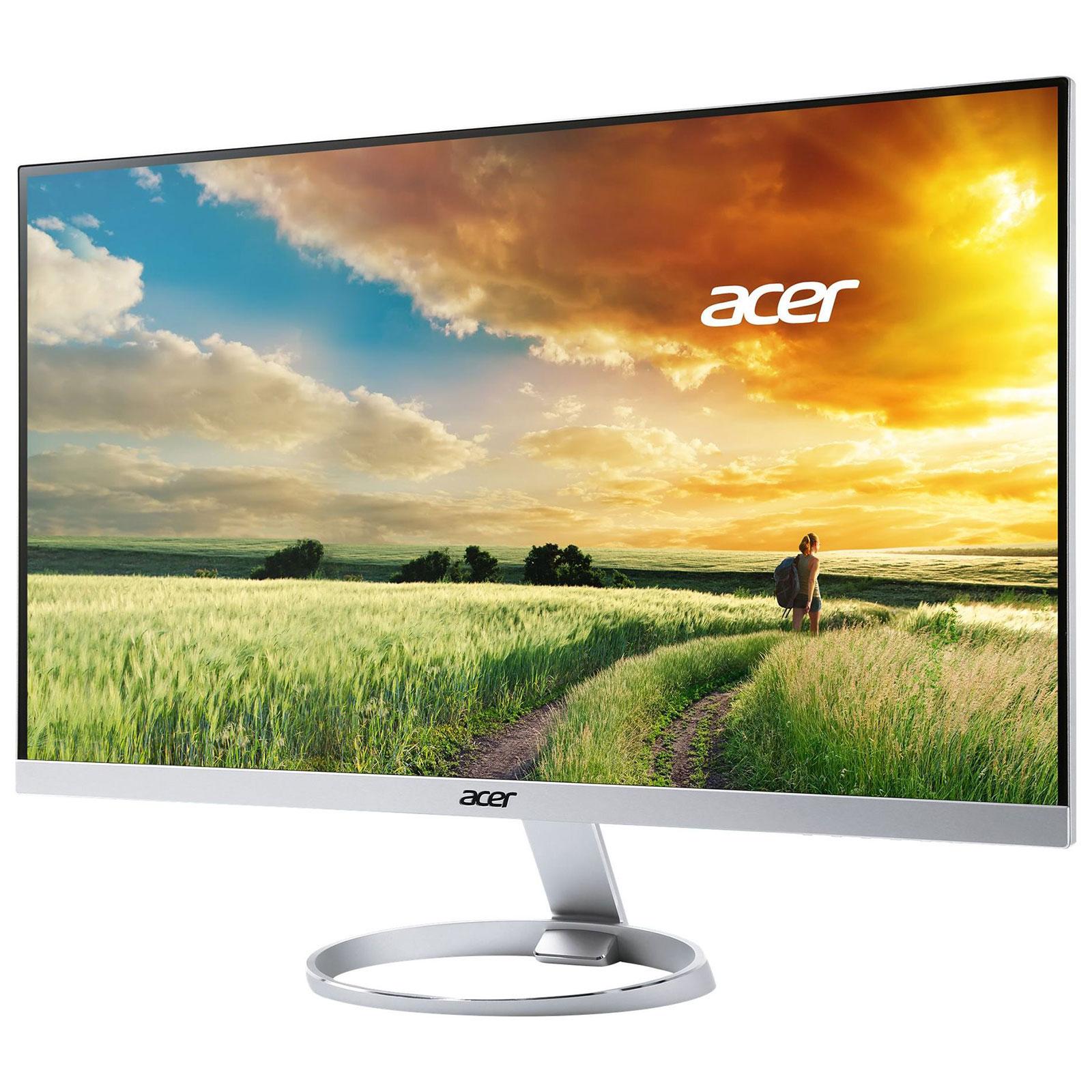 """Ecran PC 27"""" Acer H277HUsmipuz - WQHD 4ms, IPS, 60 Hz (Frontaliers Suisse)"""