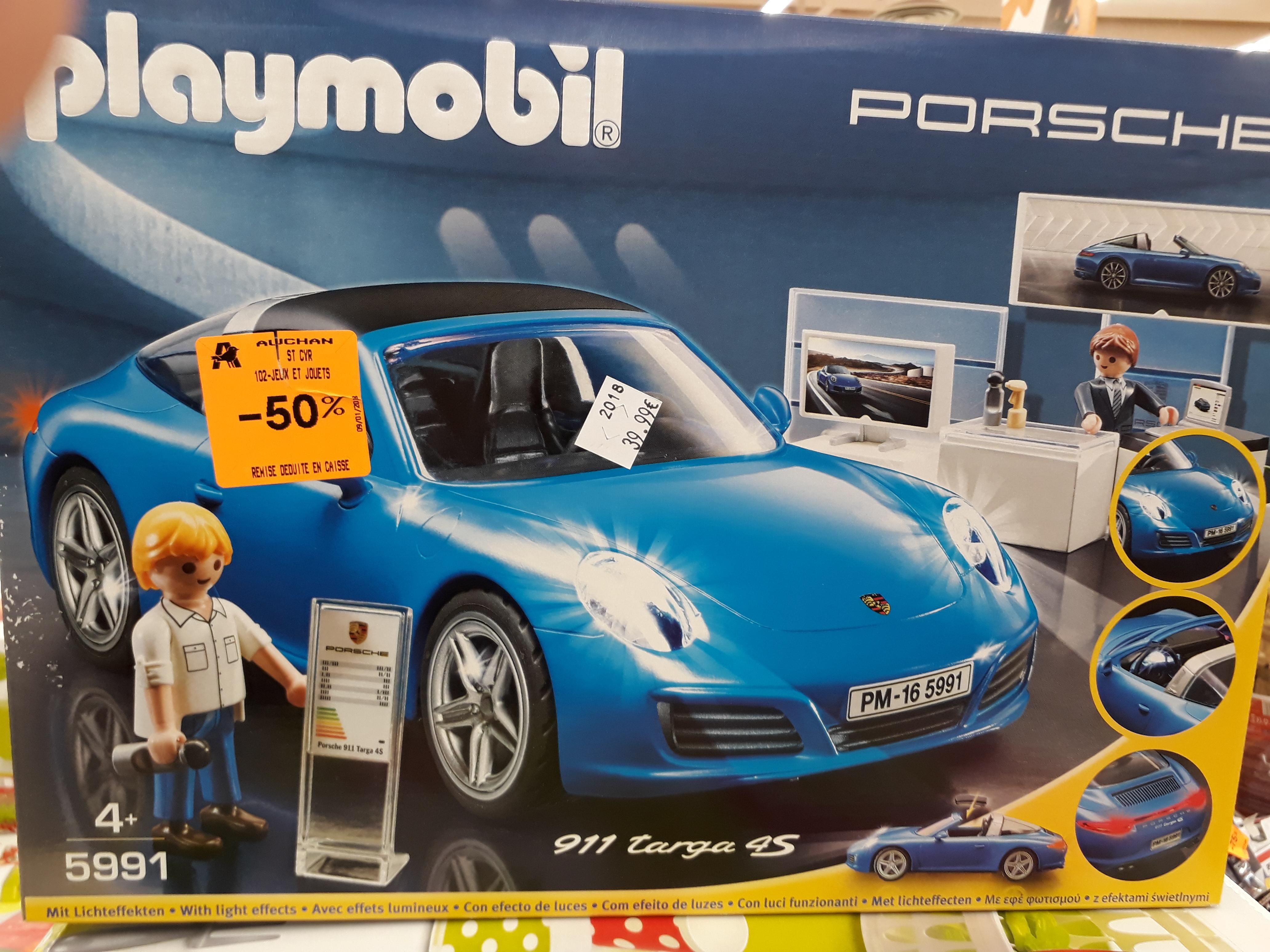 Playmobil Porsche 911 Targa 4S (5991) - Auchan Saint-Cyr (37)