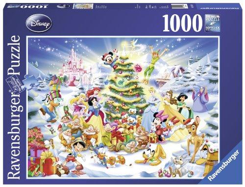 Puzzle Classique Ravensburger 19287 - Noël Avec Disney - 1000 Pièces