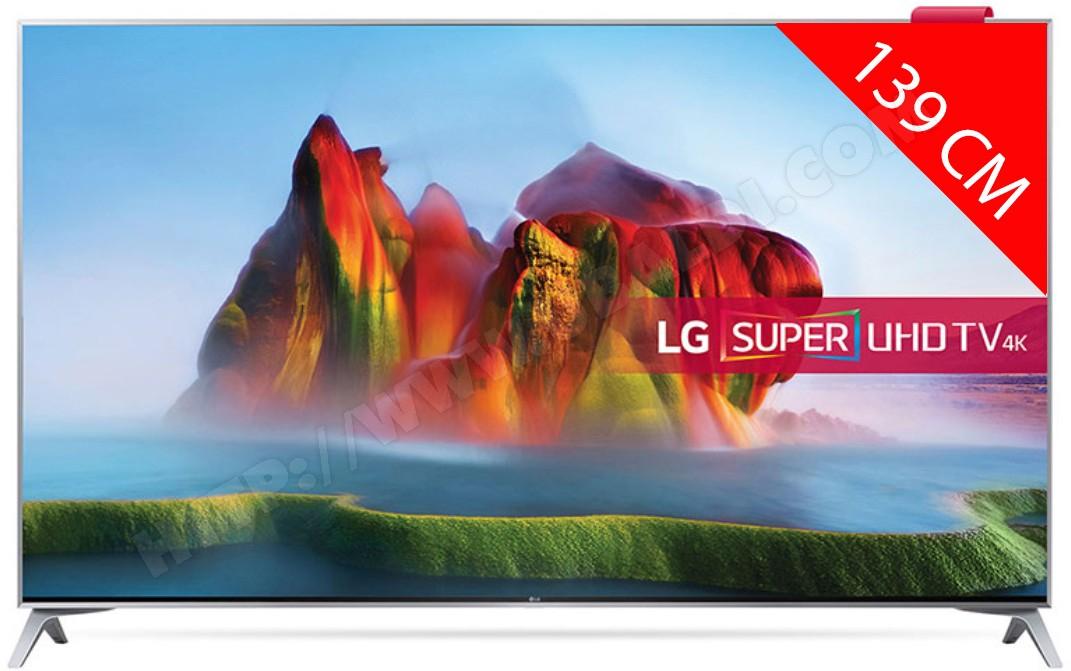 """TV 55"""" LG 55SJ800 - Super UHD"""