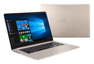 "PC Portable 15.6"" Ultrabook Asus Vivobook S510UN-BQ232T - Full HD, I5 8250U, RAM 6GO, SSD 128Go + 1To, MX150 2GO, Windows 10"