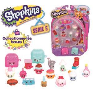 Pack 12 personnages + 2 sacs à dos - Shopkins HPK42