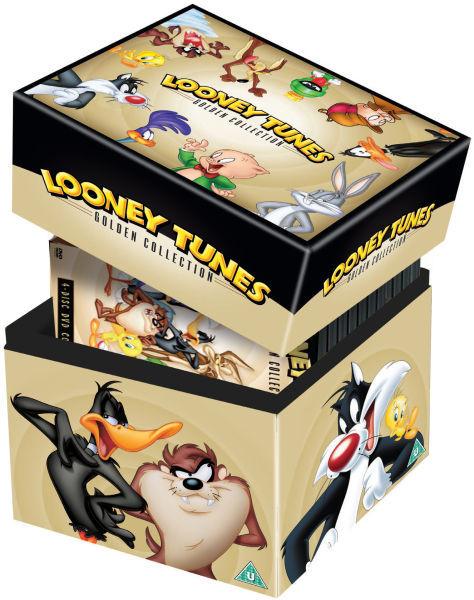 Coffret DVD Looney Tunes: Golden Collection (Partiellement en VO)