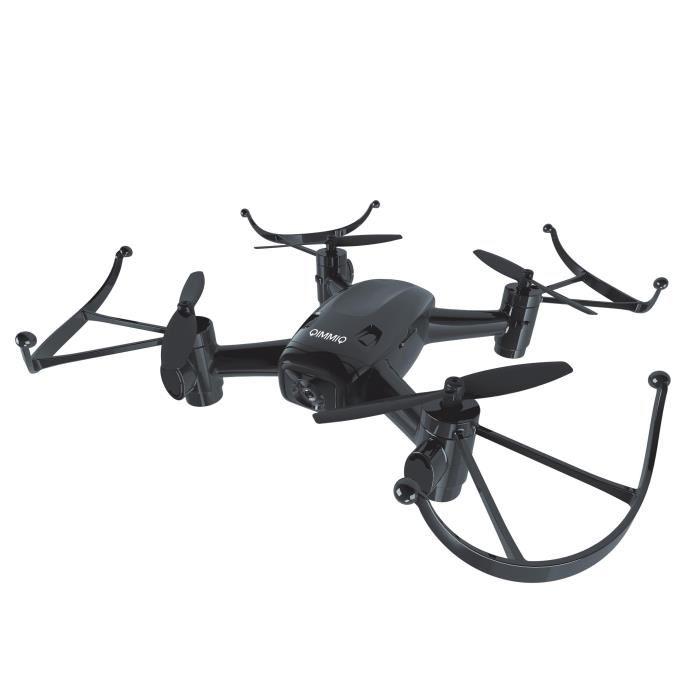 Drone avec caméra et télécommande Qimmiq Freon QID - noir