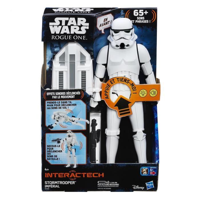 Figurine Star Wars - Force tech trooper E7 intéractive (B7098EU40)