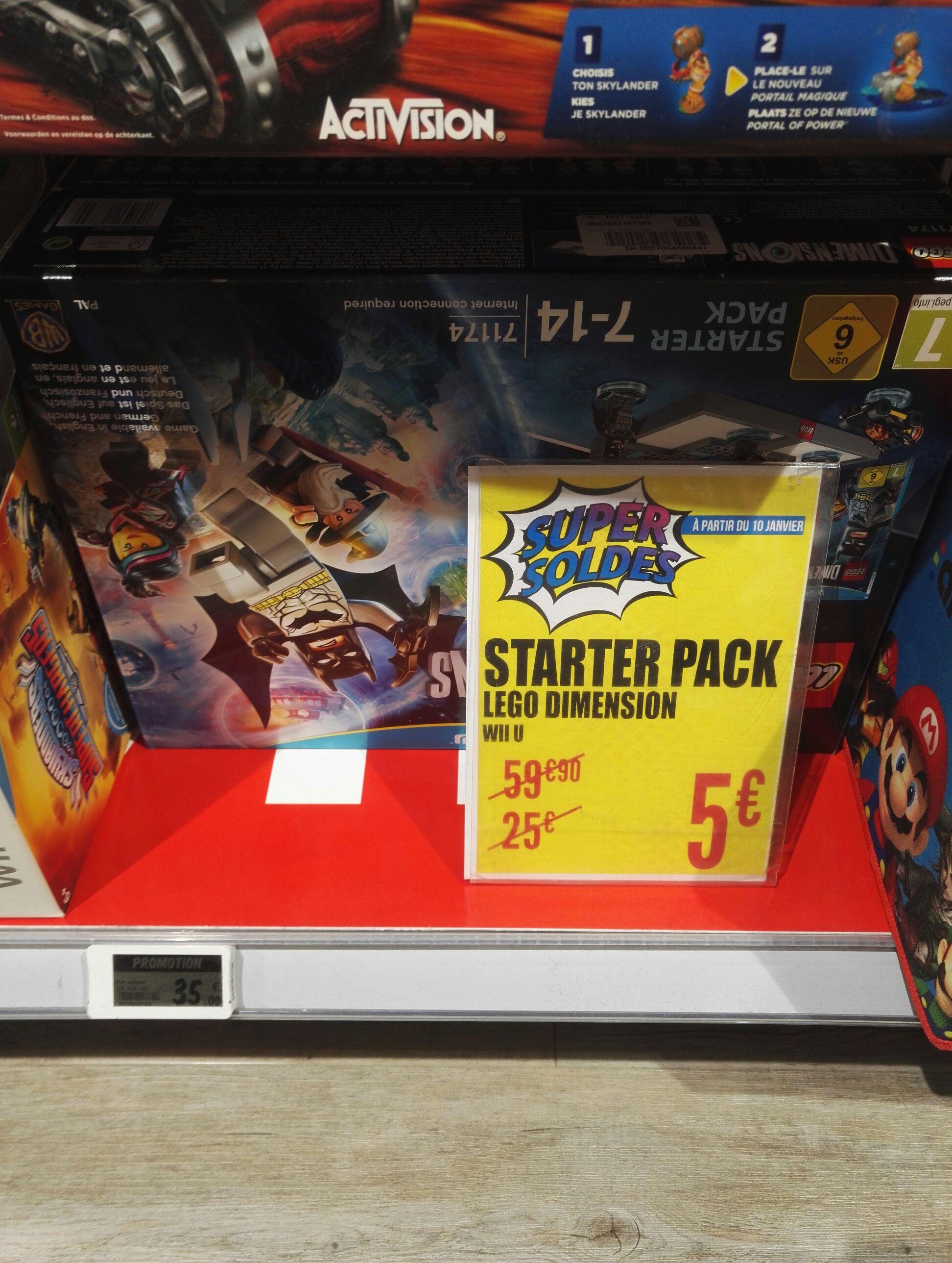 Starter Pack Lego Dimensions pour PS3, Wii U ou Xbox 360 - Saint Médard (33)