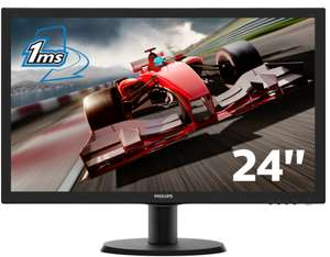 "Ecran PC 24"" Philips 243V5LHSB5/00 - 1ms - Full HD - HDMI/DVI/VGA"