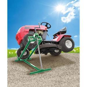 Cric lève-tracteur tondeuse - 400 kg max.