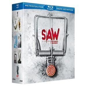 Coffret Blu-ray Saw - L'intégrale (Volume 1 à 7)