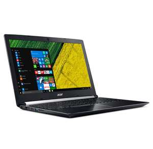 "PC portable 15.6"" full HD Acer Aspire 7 A715-71G-75B3 - i7-7700HQ, GTX-1050, 8 Go de RAM, 1 To + 128 Go en SSD"