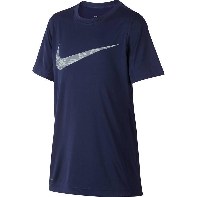 T-Shirt Gym Nike pour Garçon Bleu