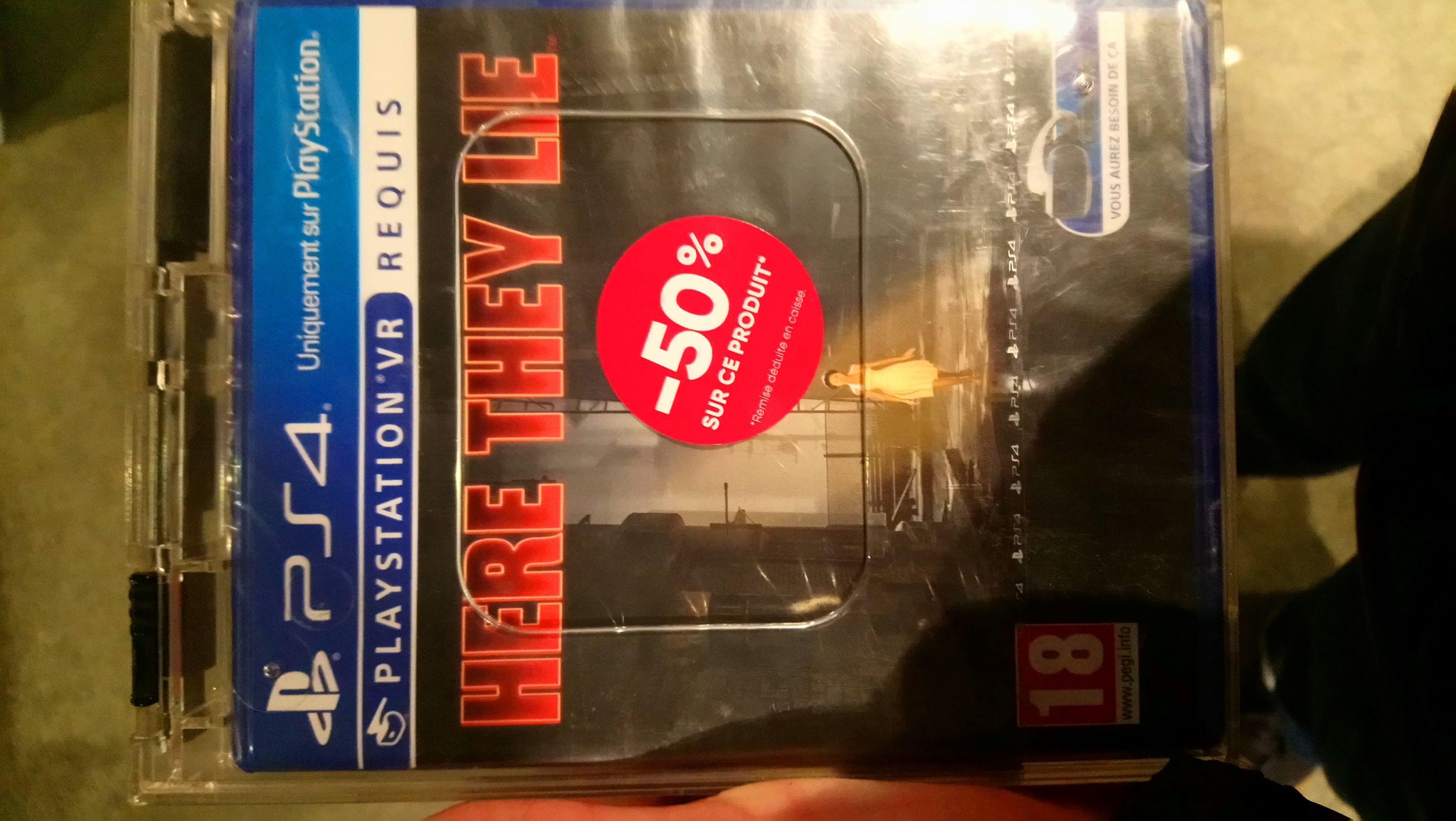 Here they lie sur PS4 - creteil soleil (94)