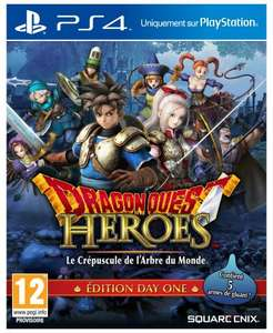Dragon Quest Heroes Edition Day One sur PS4