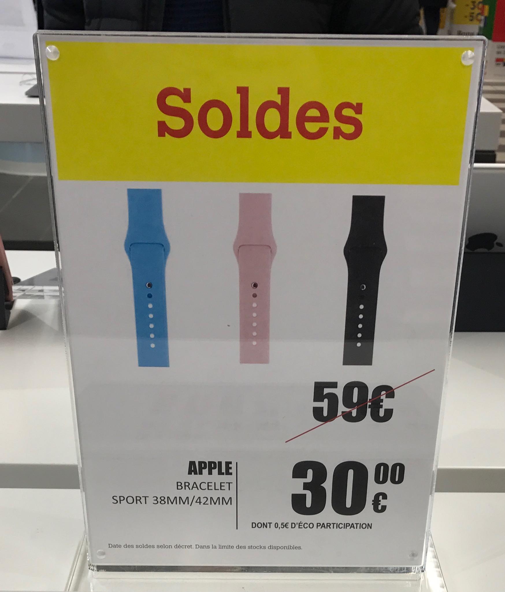 Bracelet Sport pour Apple Watch - Nation (75)