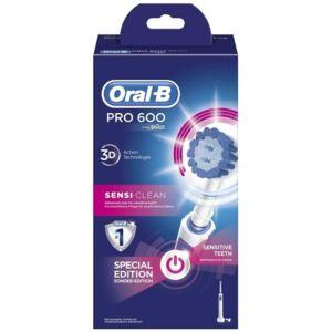 Brosse à dents électrique rechargeable ORAL-B- Sensitive 600