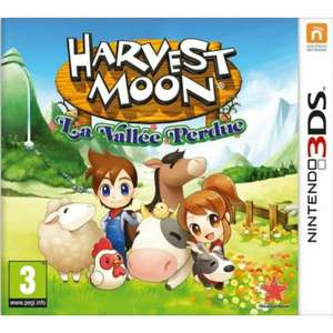 Harvest moon La vallée perdue 3DS