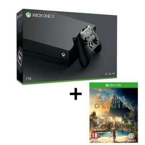 Pack Console Xbox One X 1 To + Assassin's Creed Origins