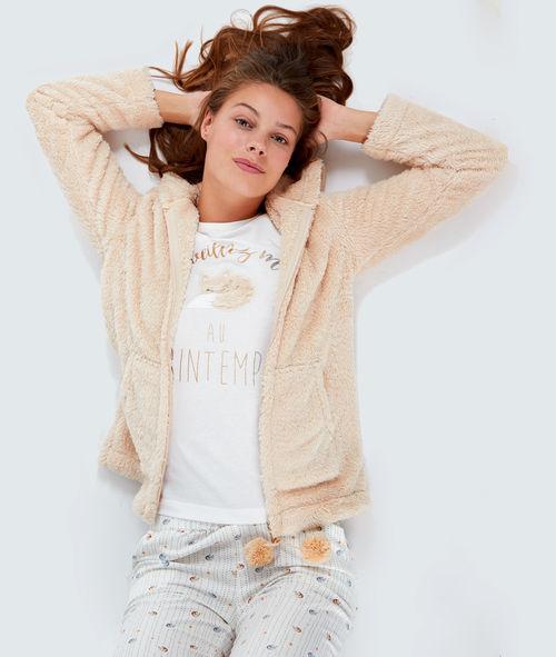 Sélection de pyjamas en promotion - Ex : 3 pièces à message Fanny (du XS au XL)